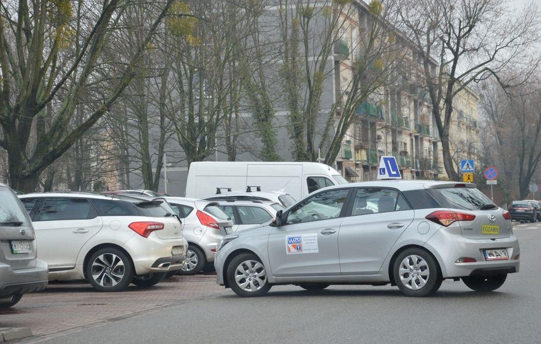 Nauka jazdy pod egzamin.